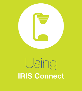 Using IRIS Connect for the first time