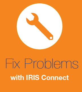 How to fix issues in IRIS Connect