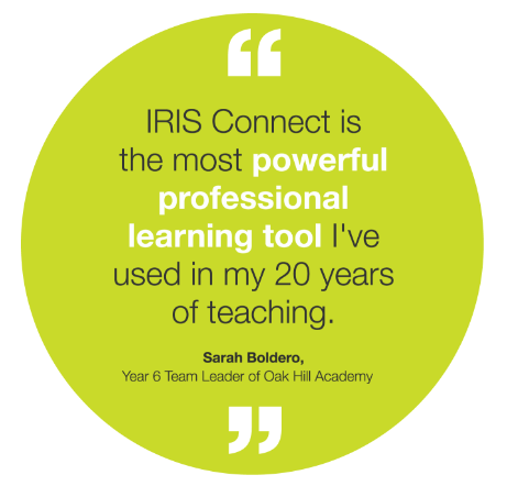 IRIS Connect powerful professional learning tool quote
