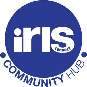 community-hub-iris-connect dark blue